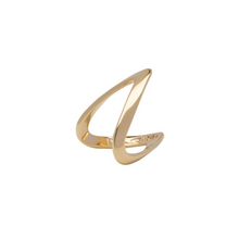 Load image into Gallery viewer, LA MAISON BAGATELLE WAVE RING GOLD