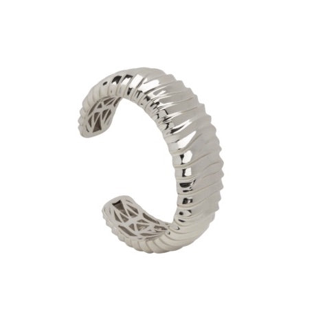 PANTOLIN DUNE BANGLE SILVER