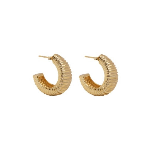PANTOLIN DUNE EARRINGS GOLD