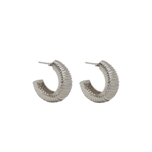 PANTOLIN DUNE EARRINGS SILVER