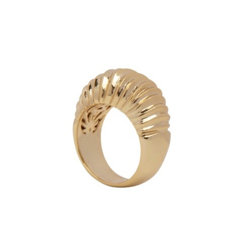 PANTOLIN DUNE RING GOLD