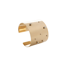 Load image into Gallery viewer, PANTOLIN SKY CUFF GOLD