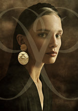 Load image into Gallery viewer, PANTOLIN FINE JEWLLERY SKY DISC FISHSCALE EARRINGS