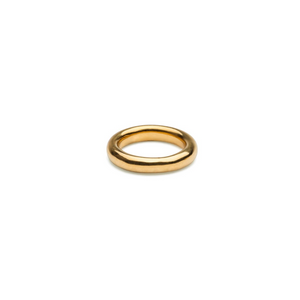 SYSTER P BOLDED RING GOLD  NG1129