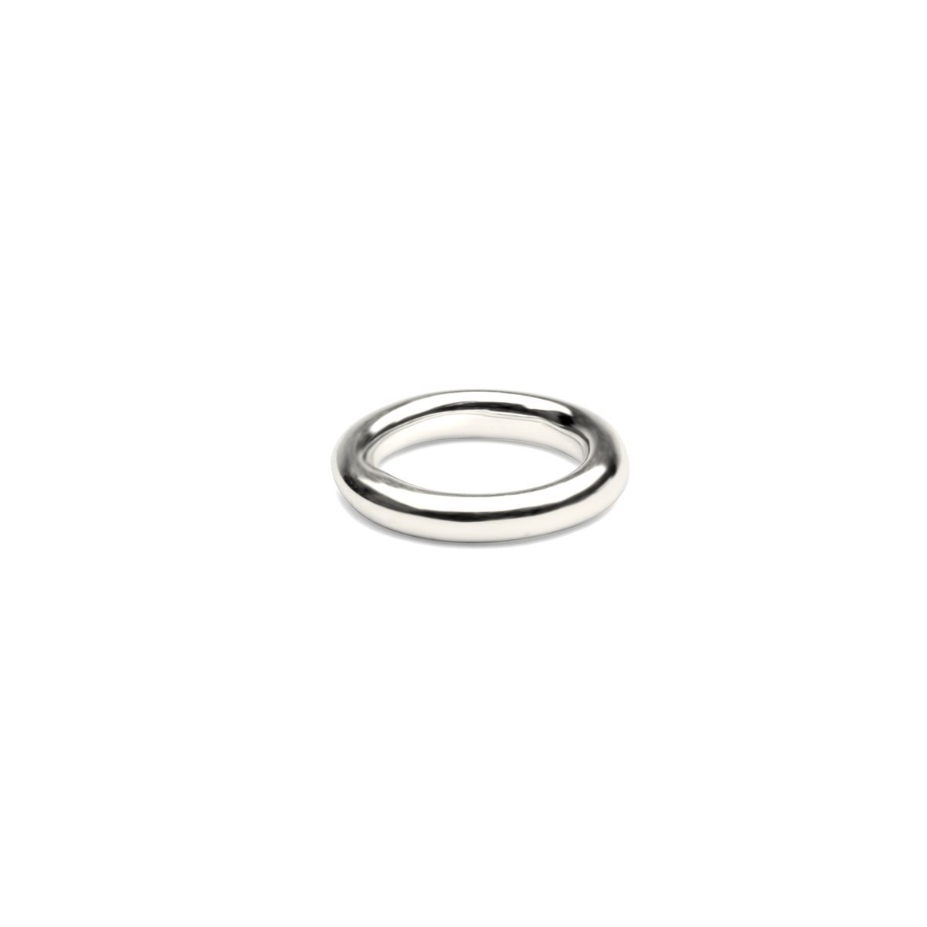 SYSTER P BOLDED RING SILVER
