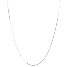 Load image into Gallery viewer, SYSTER P HERRINGBONE LONG NECKLACE SILVER