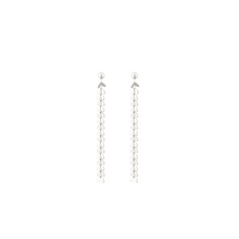Load image into Gallery viewer, SYSTER P LAYERS OLIVIA EARRINGS SILVER