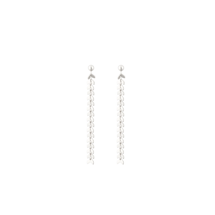SYSTER P LAYERS OLIVIA EARRINGS SILVER
