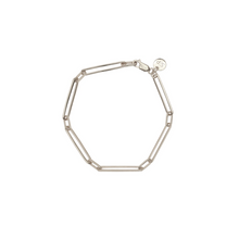 Load image into Gallery viewer, SYSTER P LINKS SQUARED BRACELET SILVER