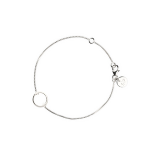 SYSTER P MINIMALISTICA RING BRACELET SILVER