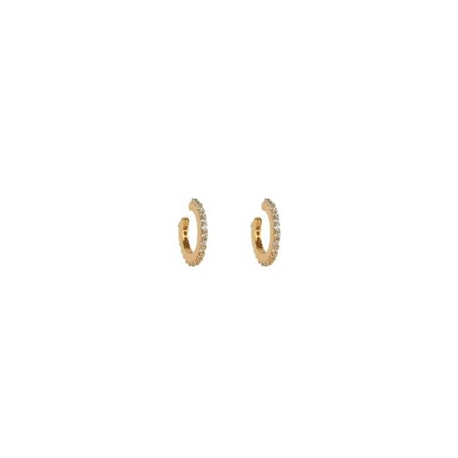 SYSTER P MINI CUFF EARRINGS GOLD