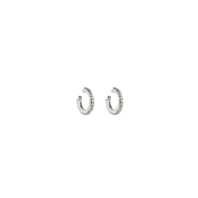 SYSTER P MINI CUFF EARRINGS SILVER