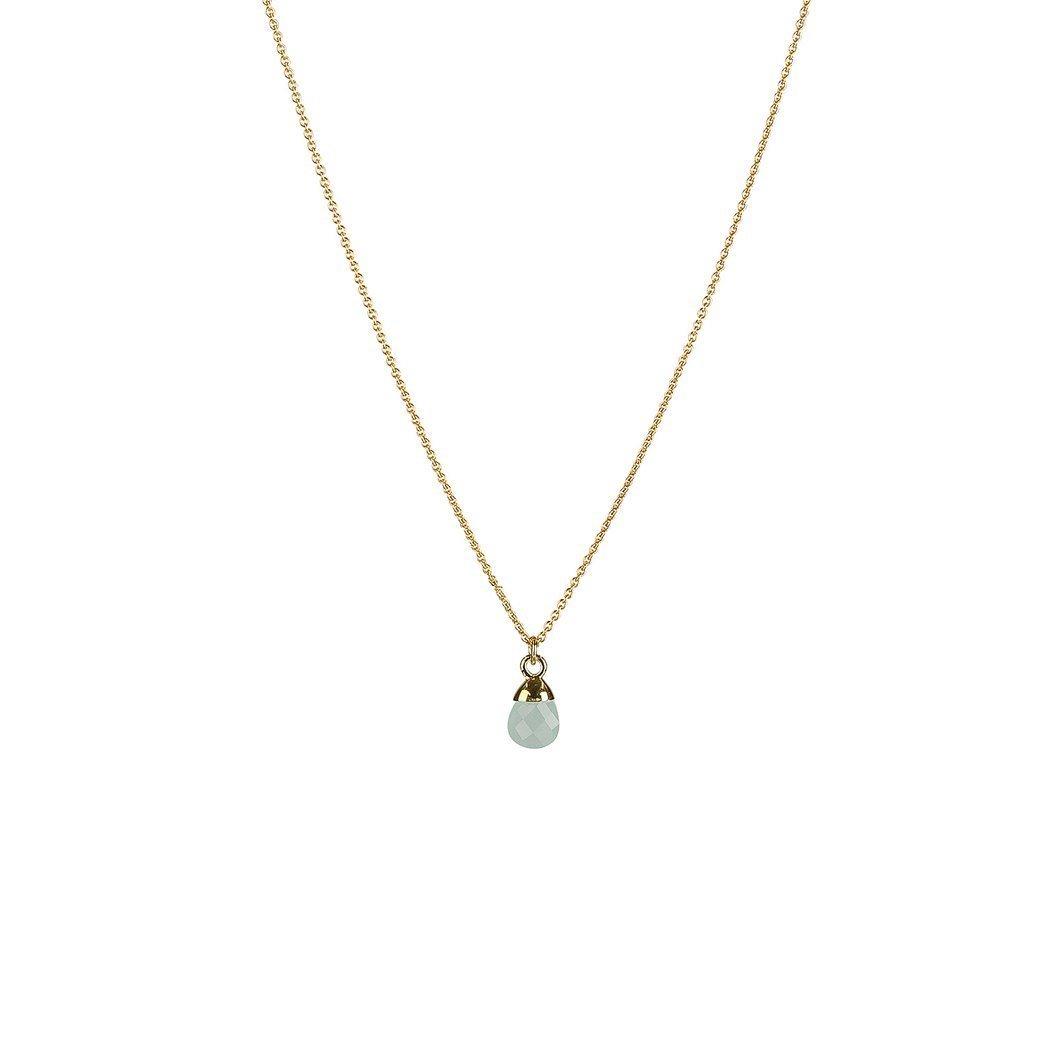 SYSTER P MINI TEARDROP NECKLACE GOLD