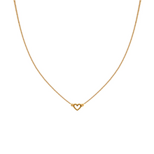 Load image into Gallery viewer, SYSTER P SNAP NECKLACE PLAIN HEART GOLD