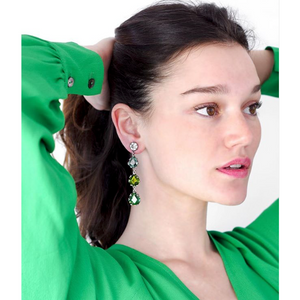 YVONE CHRISTA NY FANTASY COLLECTION EARRINGS