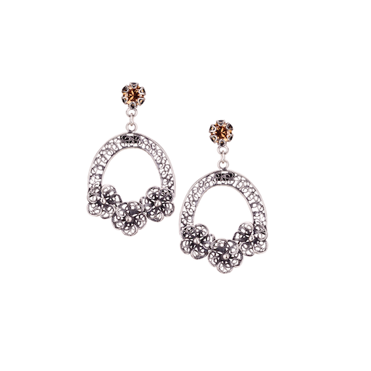 YVONE CHRISTA NY EDELWEISS COLLECTION EARRINGS
