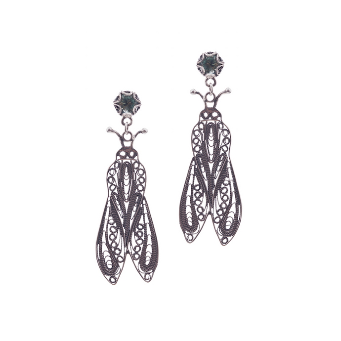 YVONE CHRISTA-BUG-EARRINGS-E5132