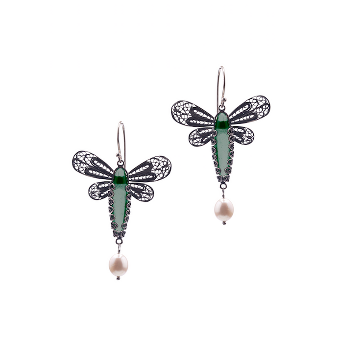 YVONE CHRISTA DRAGONFLY EARRINGS E5127