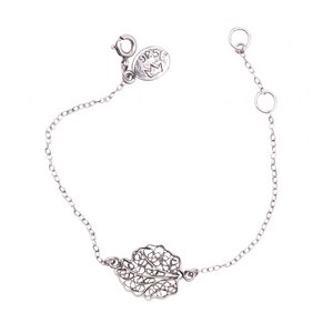 YVONE CHRISTA-OAK LEAF-BRACELET-B5113