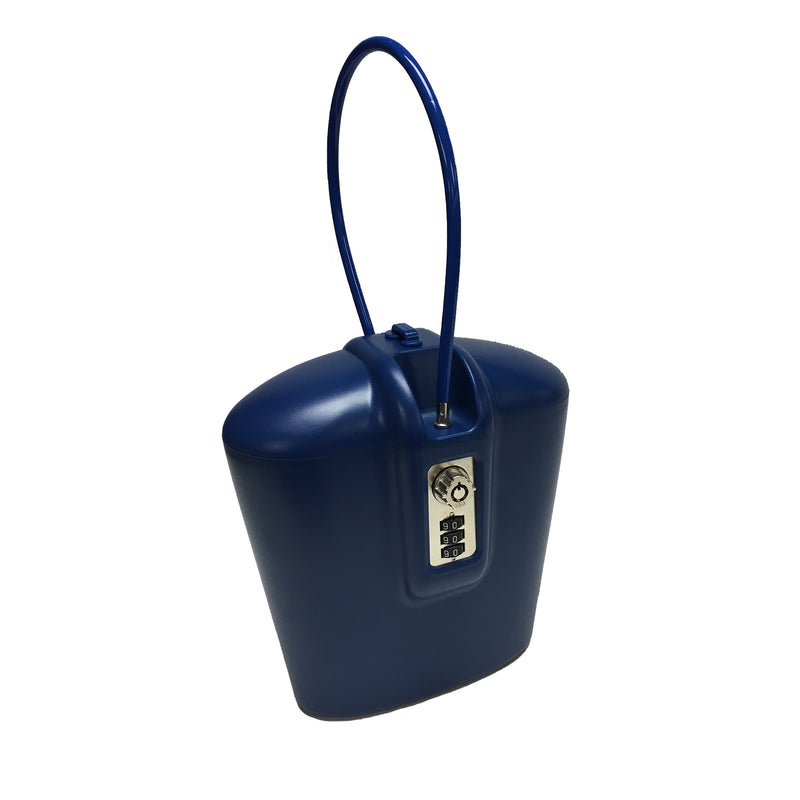 BRAZEN BLUE PORTABLE SAFE