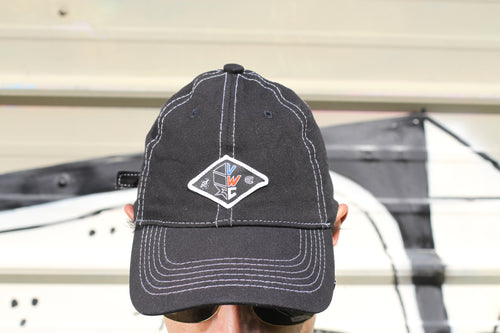 Black Dad Hat (red, white & blue VWC patch)
