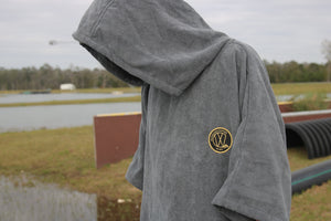 VWC Towel Hoodie (gold and black patch)