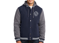 Johnston Charter Adult Hooded Letterman Jacket