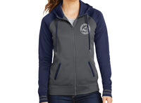 Johnston Charter Women's Zip-Up Hooded Sweatshirt
