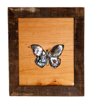 Load image into Gallery viewer, Small Butterfly Abalone Art