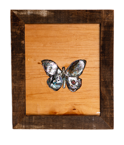 Small Butterfly Abalone Art