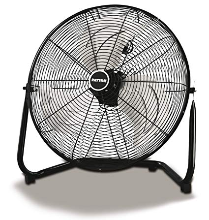 Stage Fan Black