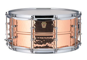"Ludwig Copper Phonic 14""x6.5"" Snare"