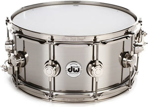 "DW Collectors Series Steel 14""x6.5"" Snare"