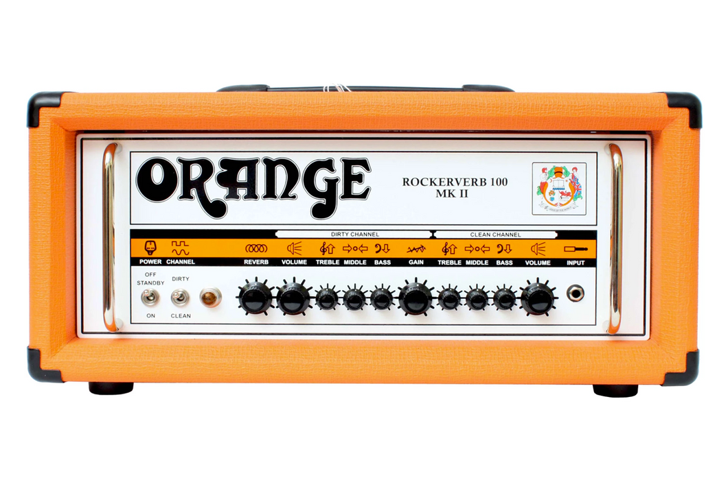 Orange Rockerverb 100 MKII - DUMMY GUITAR HEAD