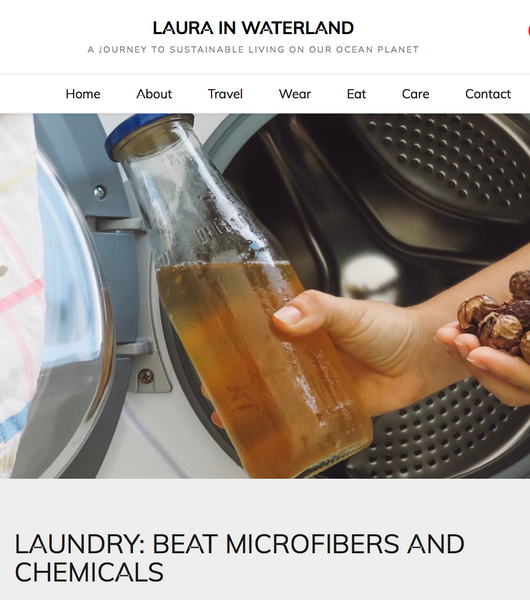 Laundry: Beat microfibers and chemicals