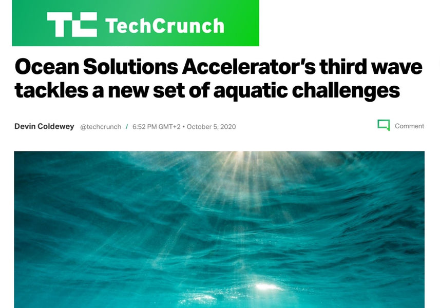 Ocean Solutions accelerator's third wave tackles a new set of aquatic challenges