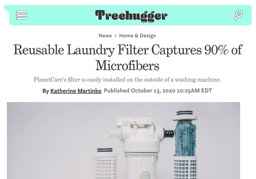 Reusable laundry filter captures 90% of microfibers