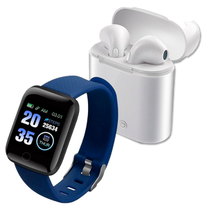 1 Watch Control Fit Pro + 1 Fone BlueTooth
