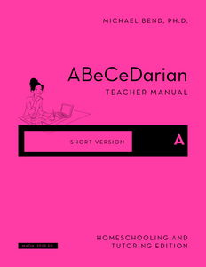 *NEW* Teacher Manual A  (Short Version)