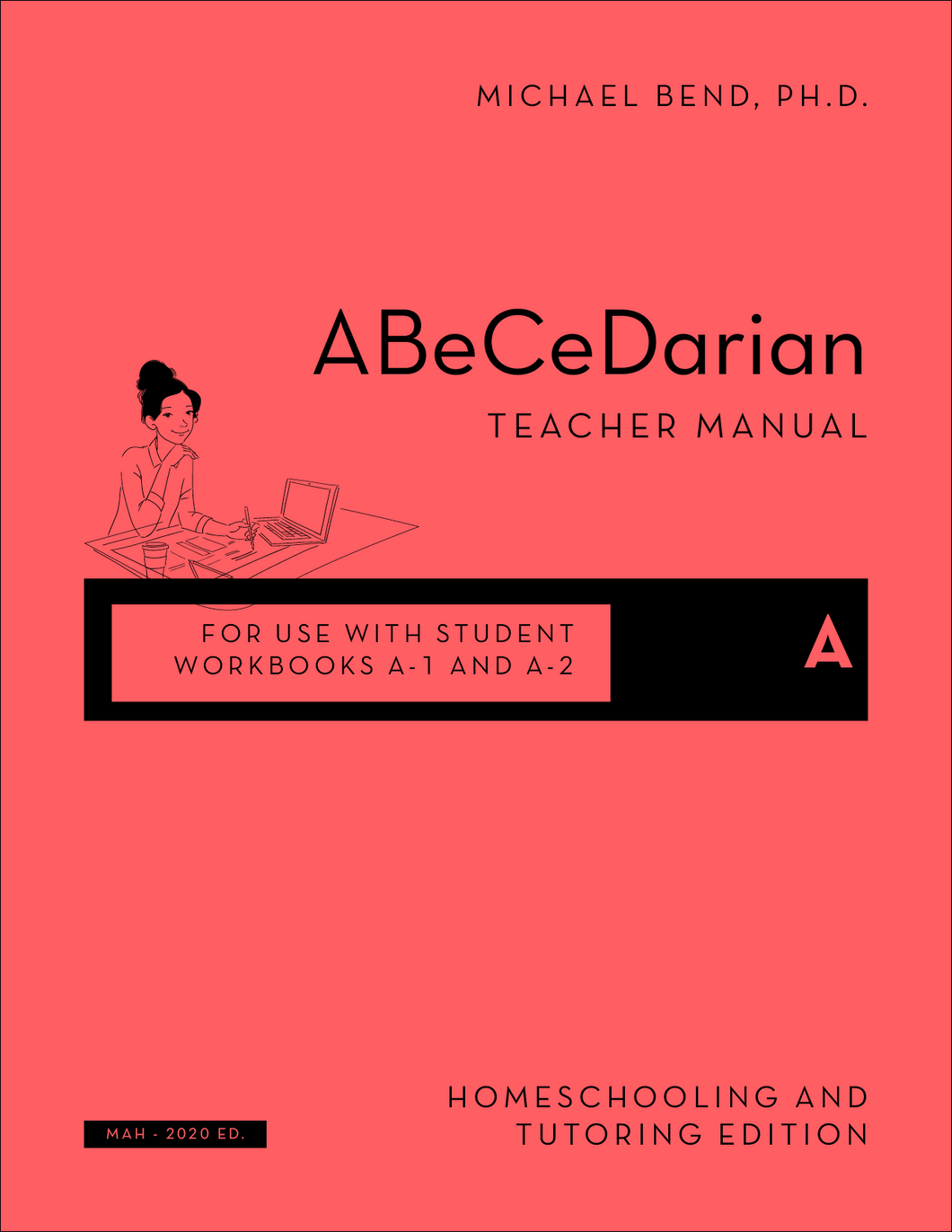 *NEW* Teacher Manual for A-1 and A-2