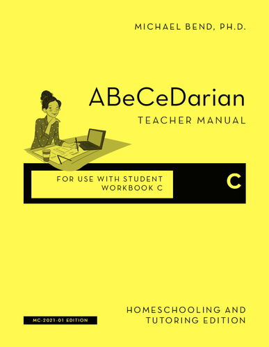 Teacher Manual C - Newly Revised 2021 Edition