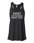 Fitness Rags Mind Over Matter Ladies Tank