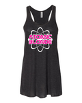 Atomic Blonde Ladies Flowy Tank