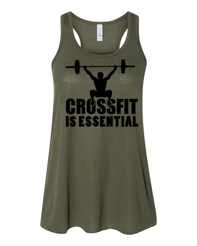 Crossfit SURGE Is Essential Ladies Tank