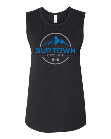 Sup Town Ladies Muscle Tee