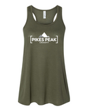 Pikes Peak Womans Flowy Racerback
