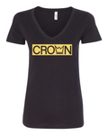 Crown Ladies V Neck