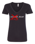 Team Higher Purpose Rocker Mom V Neck