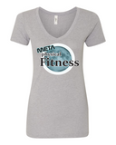 Meta Fitness Ladies V Neck