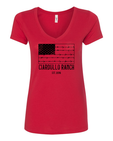 Ciardullo Ranch Ladies V Neck
